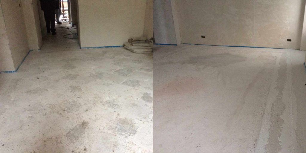Levigatura pavimento in cemento